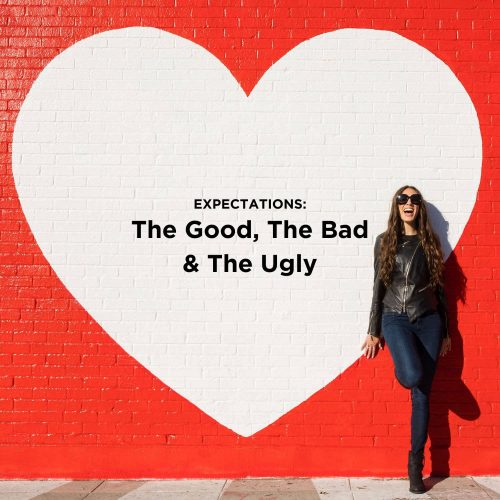 expectations blog post graphic - online business coach for female entrepreneurs